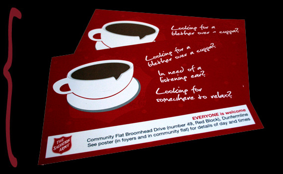 salvation army leaflets